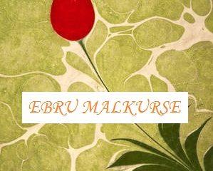 Ebru-Wassermalerei